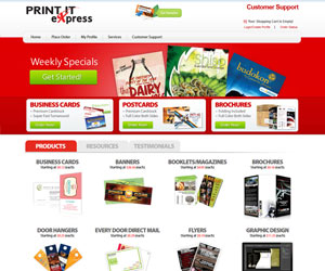 Printing Website Themes & Templates